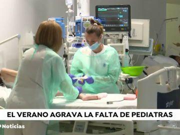 Faltan pediatras en España