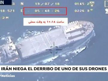 Irán niega que Estados Unidos haya derribado uno de sus drones