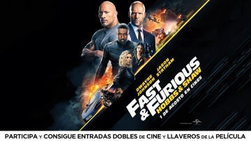 Concurso 'Fast and Furious: Hobbs and Shaw'