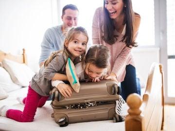 Familia que viaja