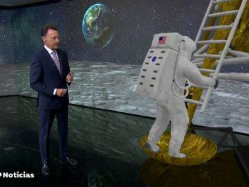 Hoy se cumplen 50 años de la llegada del hombre a la Luna