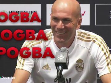 """Zidane, sobre el posible fichaje de Pogba: """"Estamos en ello"""""""
