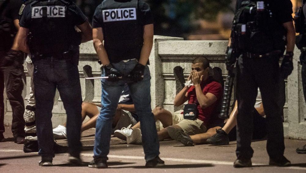 Algunos de los detenidos en Francia tras los incidentes del 14 de julio