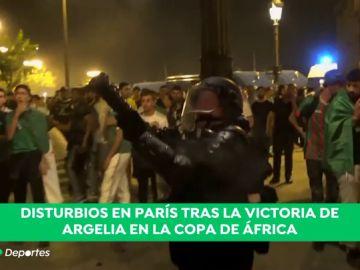 Graves altercados en Francia tras la victoria de Argelia en la Copa África: Cerca de 200 detenidos