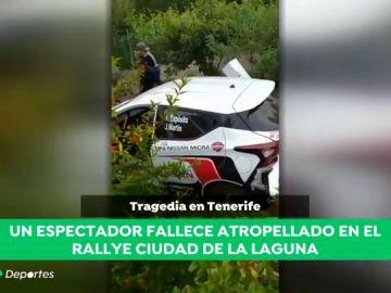 Muere atropellado un hombre durante un Rally en Tenerife