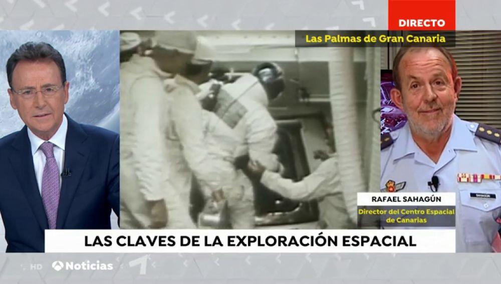 Director Espacial de Canarias, sobre el papel de España en la llegada a la luna: