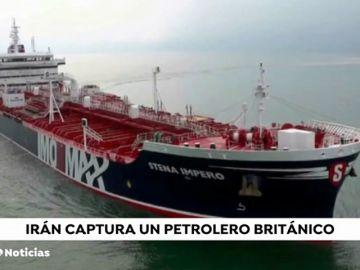 Las cinco claves de la captura del petrolero británico por parte de Irán