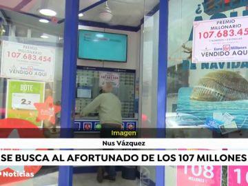 Un único acertante en España se lleva más de 107 millones de euros en el bote del euromillón