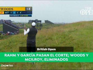 En juego el Abierto Británico de Golf con posibilidades para el español John Rahm de hacerse con el título de campeón