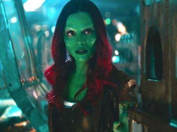 Zoe Saldana, Gamora en 'Vengadores: Endgame'