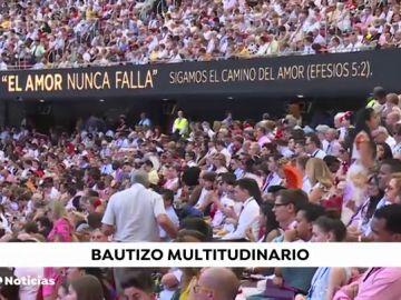 Los testigos de Jehová bautizan a más de 400 personas este fin de semana en Madrid