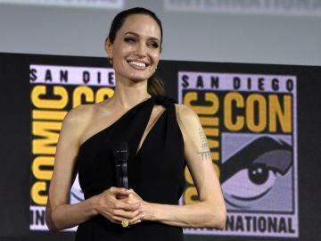 Angelina Jolie en la Comic-Con de San Diego