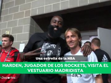 James Harden visita al Real Madrid en Houston