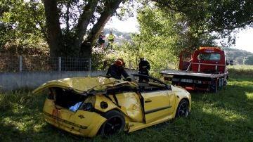 Tres muertos en un accidente en Salamanca