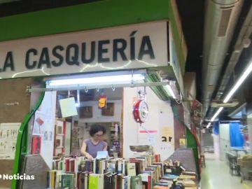 Comprar libros al peso como forma de ahorro: 10 euros el kilo