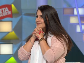 Cristina se lleva uno de los botes más altos de 'La ruleta de la suerte'