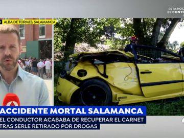 Accidente mortal en Salamanca