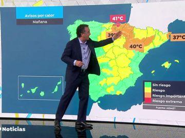 Suben las temperaturas en toda España, llegaremos a los