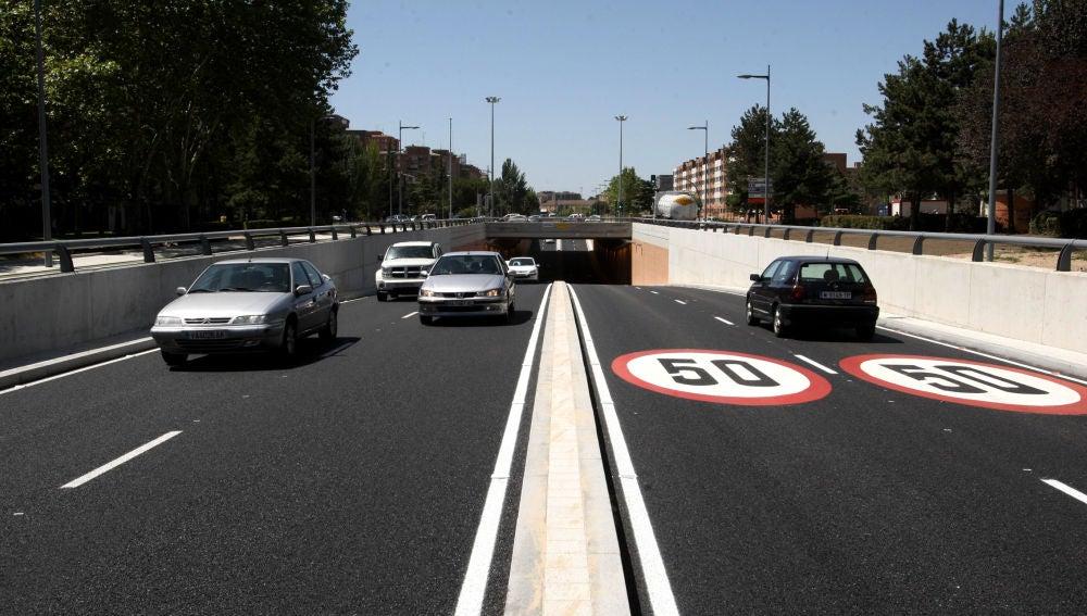 Apertura al tráfico de la Avenida de Salamanca de Valladolid tras las obras
