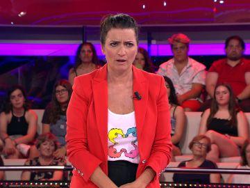 El deseo de una concursante sorprende a Silvia Abril en '¡Ahora caigo!'