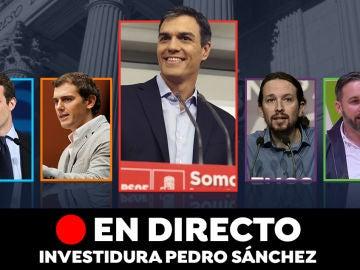 Investidura de Pedro Sánchez: Pleno de hoy, en directo
