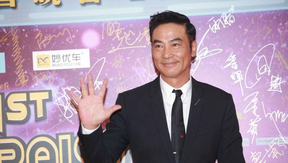 El actor Simon Yam