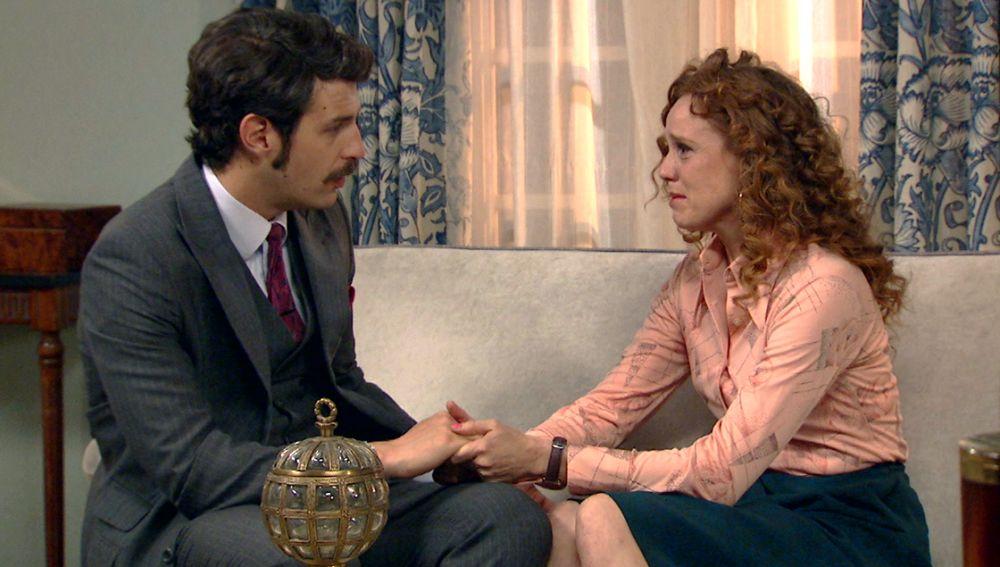 Avance 'Amar es para siempre': Ana, dispuesta a revelar a Carlos su relación con la muerte de su padre
