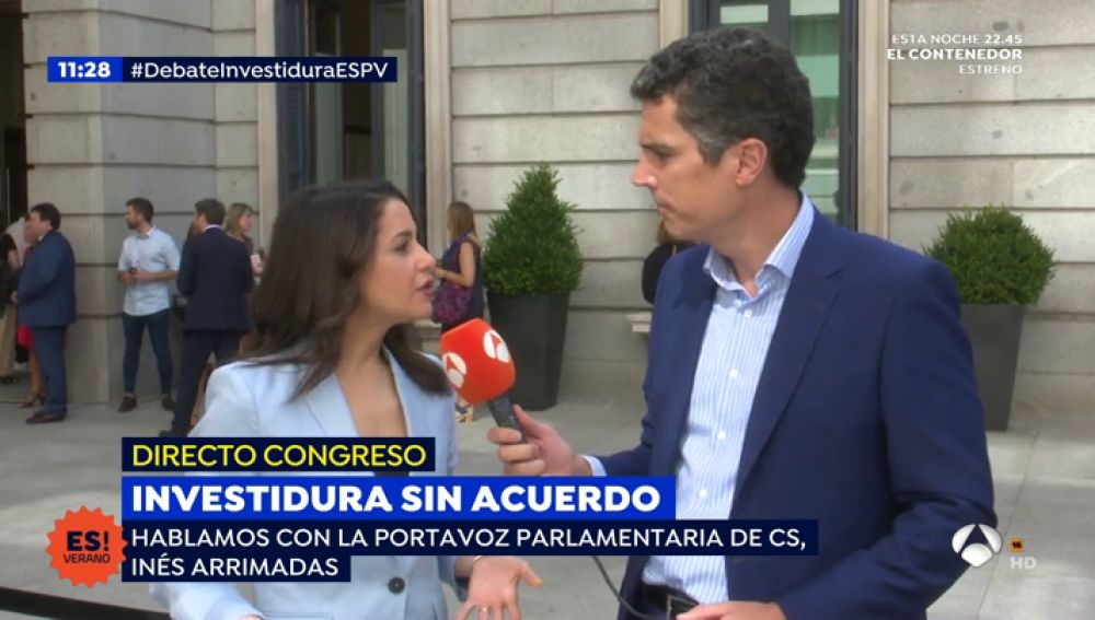 Inés Arrimadas para 'Espejo Público'