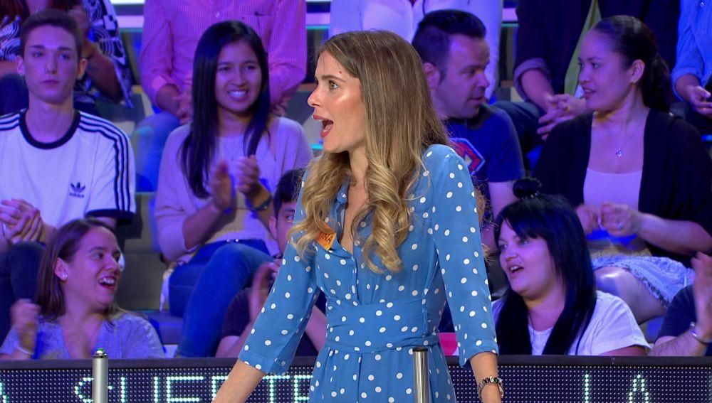El monumental enfado de Cristina en 'La ruleta de la suerte'