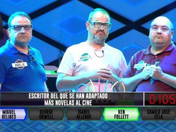 Miguel Delibes ayuda a 'Los Forestales' en '¡Boom!' a conseguir ventaja en el marcador