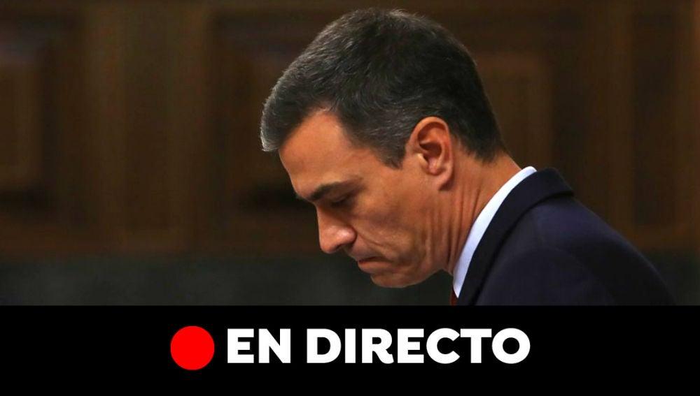 Votación investidura Pedro Sánchez: Resultado y última hora en directo