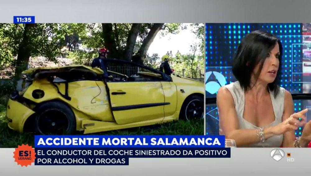 Accidente mortal en Salamanca.