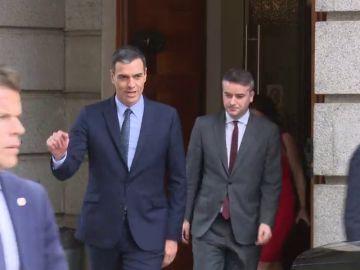 Pedro Sánchez prepara con su equipo una nueva oferta a Podemos