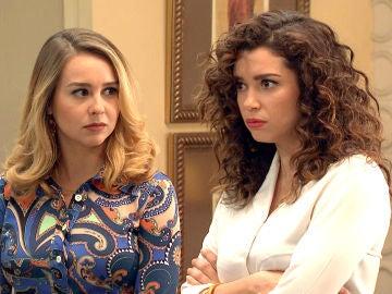Amelia se enfrenta a Manolita por entrometerse en su relación con Luisita