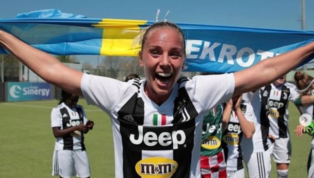 La jugadora Petronella Ekroth