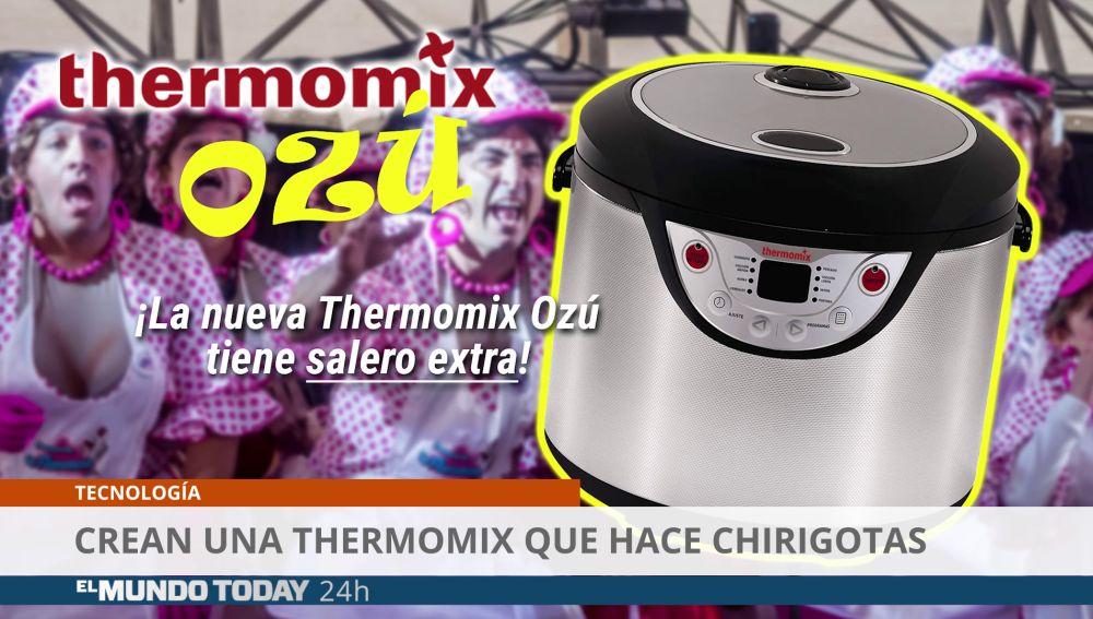 Crean una thermomix que hace chirigotas