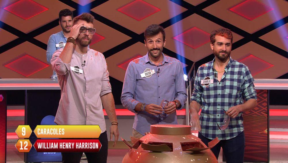 Los 'Salmorejos' rozan el bote de '¡Boom!' en su primer programa