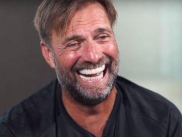 Klopp se ríe al recordar el gol de Origi al Barça