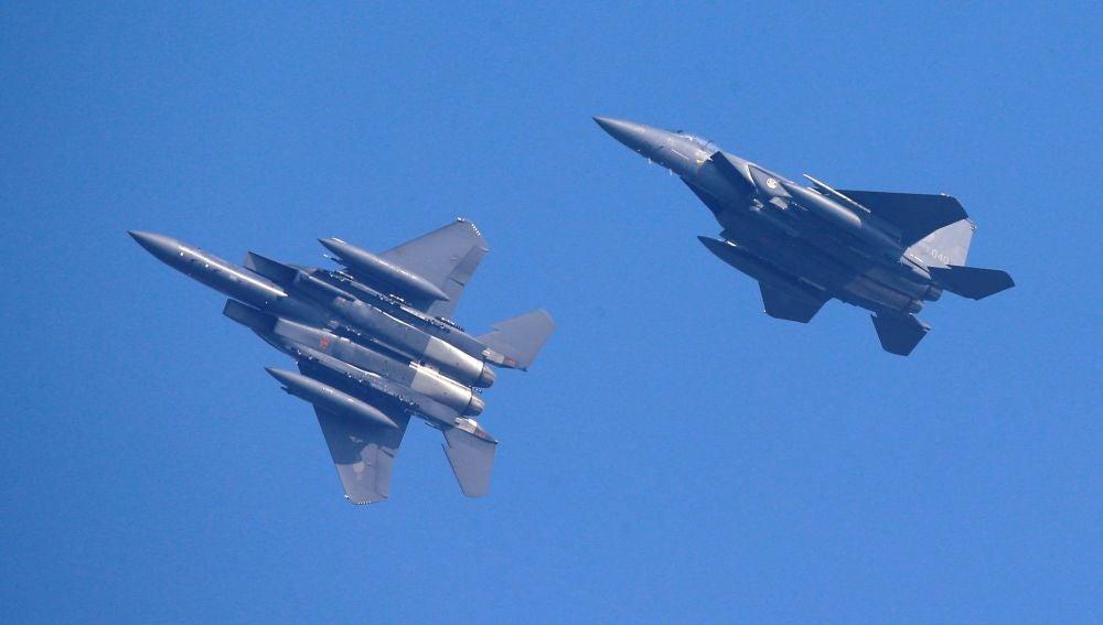 Corea del Sur dispara a un avión ruso