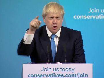 Boris Johnson, nuevo líder del partido conservador y primer ministro británico