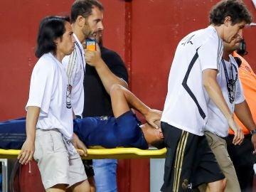 Asensio se marchó lesionado ante el Arsenal