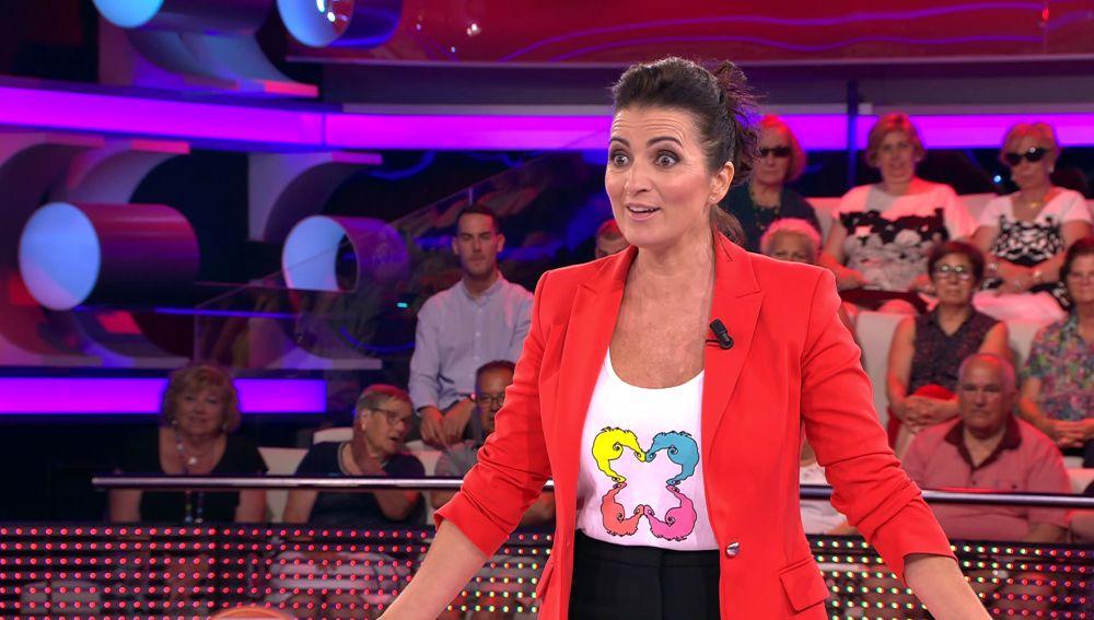 Silvia Abril alucina tras conocer el arriesgado oficio de Alba
