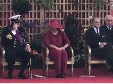 Recepción del rey de Bélgica