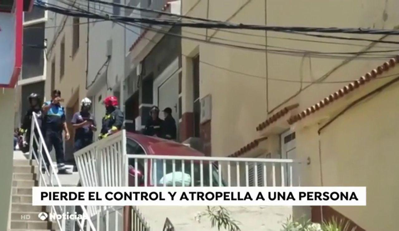 Un conductor se equivoca de calle y provoca un accidente en Gran Canaria