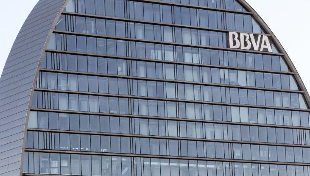 La 'vela' del BBVA, sede en Madrid de la entidad