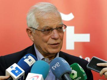 El ministro de Asuntos Exteriores en funciones, Josep Borrell