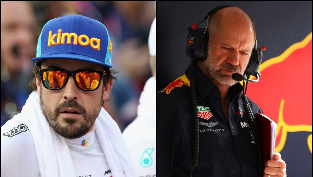 Newey quiso fichar a Alonso en 2008