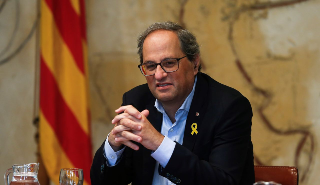 El presidente de la Generalitat, Quim Torra en una imagen de archivo