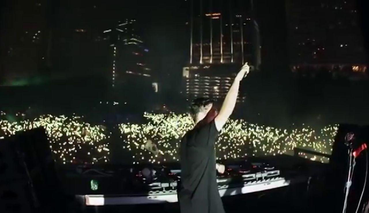 Martin Garrix, la gran estrella de este viernes en el festival Arenal Sound