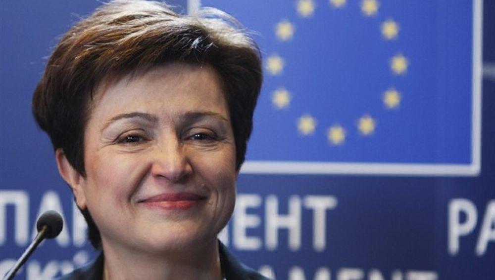 Kristalina Georgieva, actual directora ejecutiva del Banco Mundial